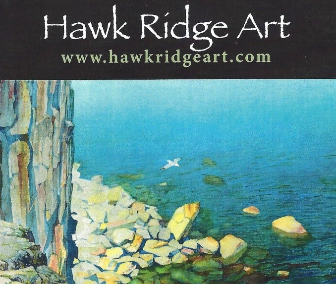 Logo-Hawk Ridge Art